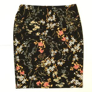 Jules and Leopold XL Floral Pencil Skirt Stretch